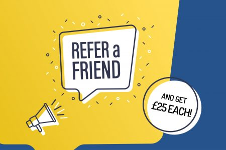 Refer A Friend to Giganet for £25